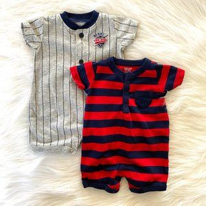 Just One You Carters Newborn Baby Boy Rompers